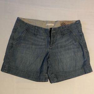 GAP chambray shorts
